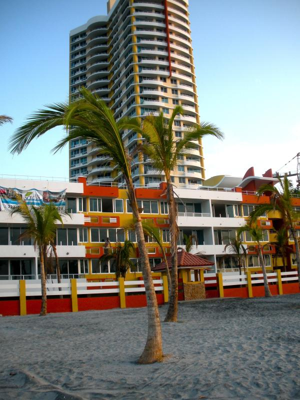 Photo of condo tower from the beach. - Luxury condo- Coronado Beach - Coronado - rentals