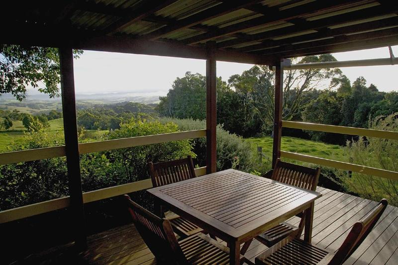 Your private Deck - LISNAGARVEY COTTAGE - Dorrigo - rentals