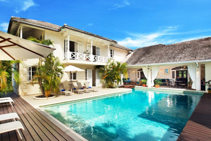Barbados Villa 31 Encircles A Large Central Pool Onto Which The Ground Floor Bedrooms And Terrace Open. - Image 1 - Sandy Lane - rentals