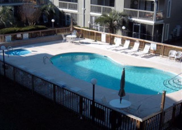 Great pool and hot tub area! - Golf Colony Resort Come Stay with Us! Surfside's Best Kept Secret :) -29E - Surfside Beach - rentals