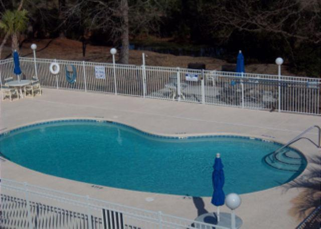 Great pool with hot tub and grilling area - Golf Colony Resort Blissful Villa ready for Your Family  Vacation!- 30F - Surfside Beach - rentals