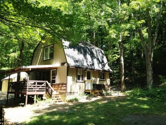 Front View - Fishermans Retreat at Hidden River Cabin on the Betsie! - Frankfort - rentals