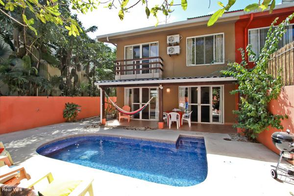 Back Garden - Casa Mango - 2 blocks from beach- Playa Potero - Guanacaste - rentals