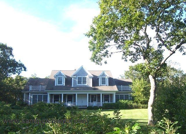 #2050 Private 7.2 acre compound with key to Quansoo Beach - Image 1 - Chilmark - rentals