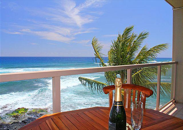 Welcome to Kuhio Shores #418, Poipu's oceanfront