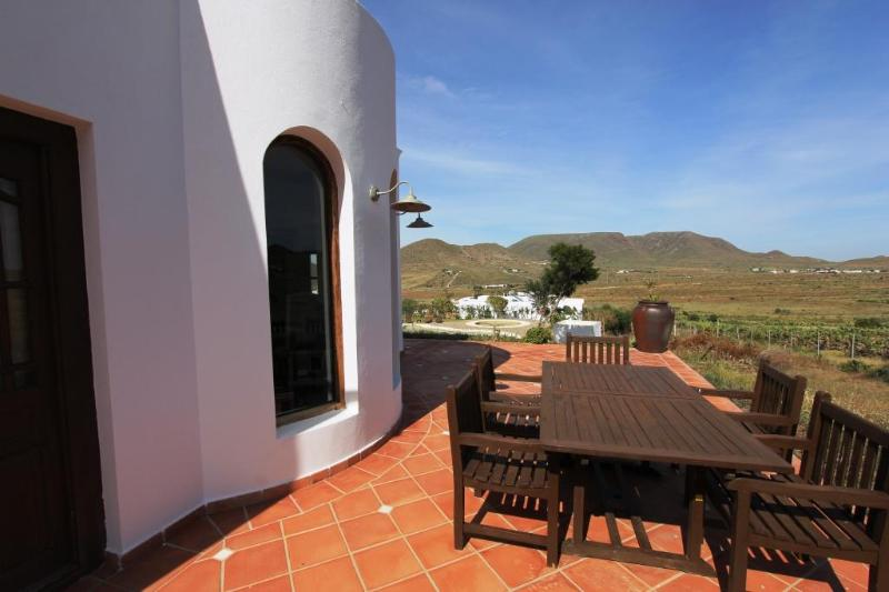 Terrace view - Villa inside rural hotel - Pechina - rentals