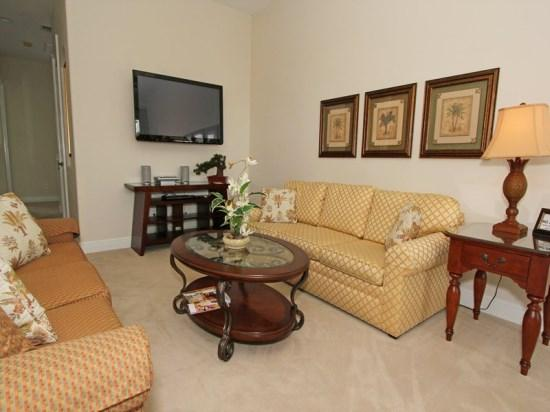 Family Room - RE5P7513ED Upscale Vacation Home in a Stunning Resort - Kissimmee - rentals