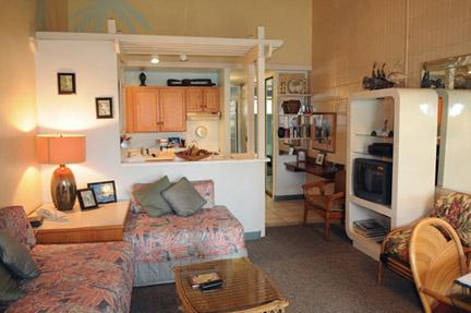 2 daybeds and fully equiped kitchen - Napili Shores True Hawaian Paradise F249 One bdr - Lahaina - rentals