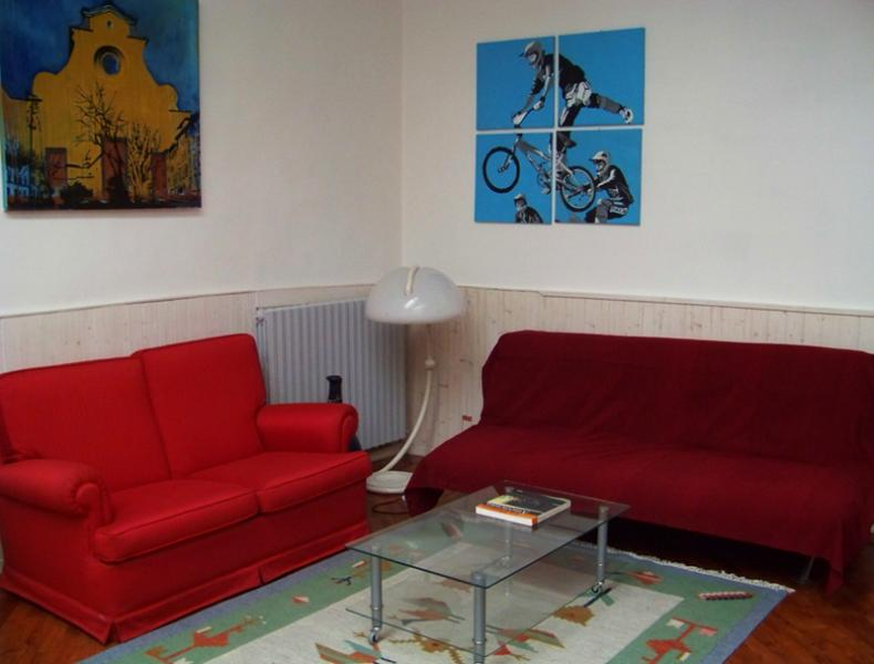 the living zone - MODERN LOFT IN THE CENTER OF FLORENCE - Italy - rentals