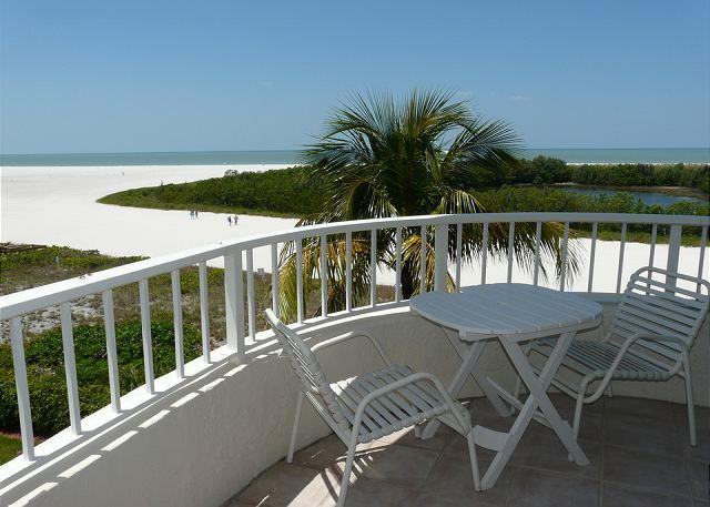 Balcony and View - South Seas Tower 3 Unit 411 - Marco Island - rentals