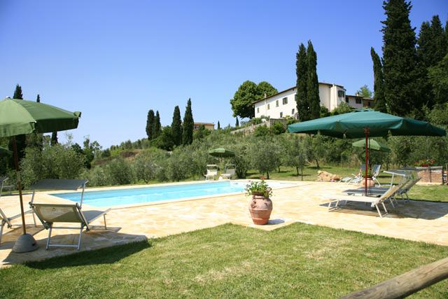 Swimming Pool - Villa Pisa with swimming Pool - San Miniato - rentals