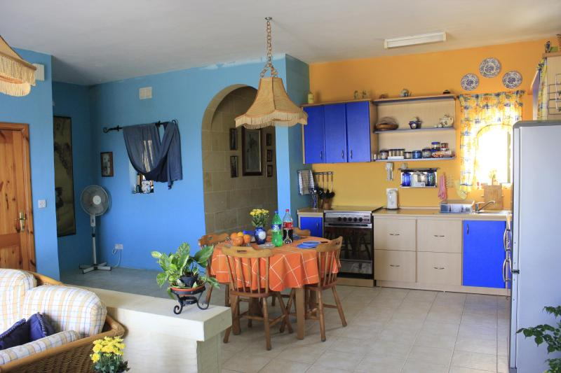 Kitchen/dining area - Gozo Luxury Apartment - A home away from home - Ghajnsielem - rentals