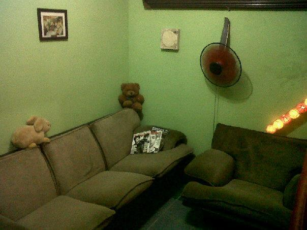 salon - Typical Indonesian cozy house in small street - Jakarta - rentals