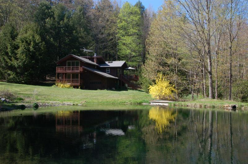 Across the pond - Secluded Hideaway, Pond, Fall Foliage, Ski Season - Hillsdale - rentals