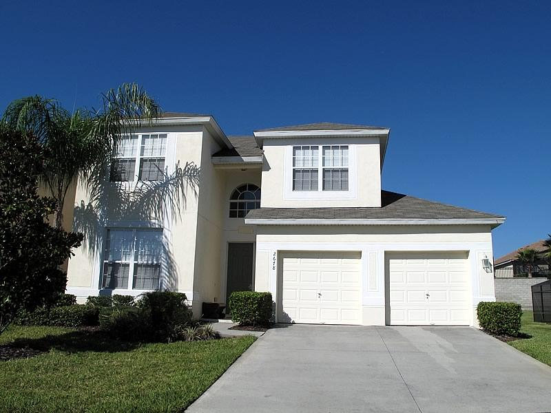 Front view  - Beautiful 5 Bed Home on Windsor Hills Resort - Kissimmee - rentals