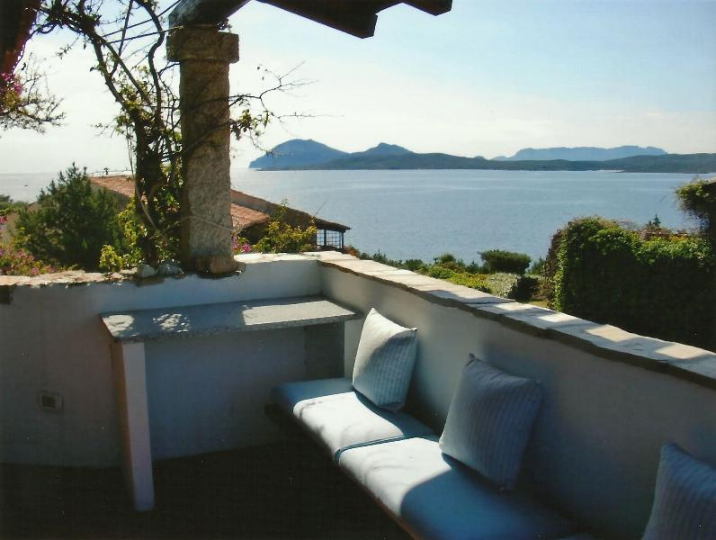 Ocean view from the terrace - Apartment in luxury resort, Emerald Cost, Sardinia - Olbia - rentals
