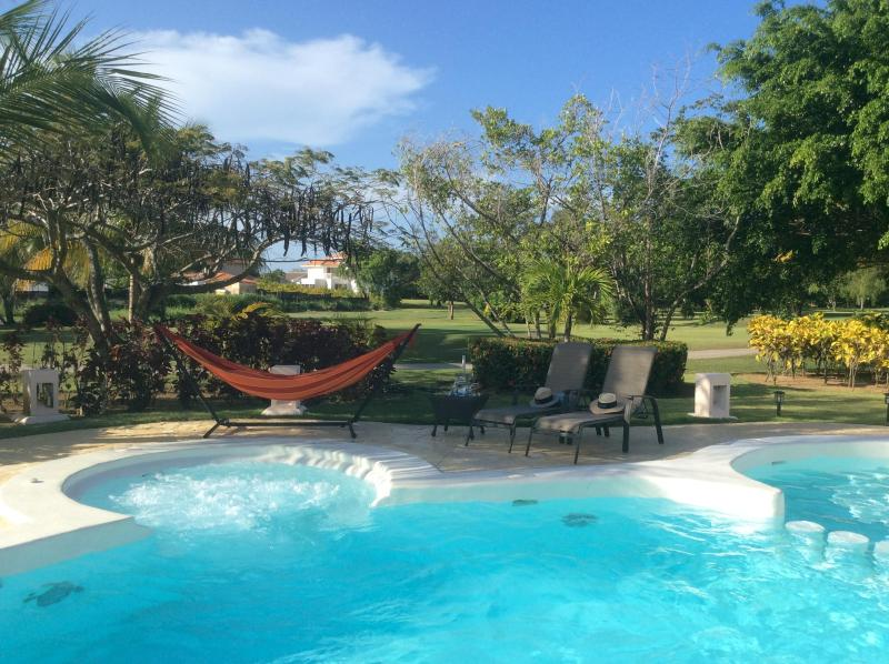 Pool with Hammock - My Home is your home on Golf Course! - Punta Cana - rentals