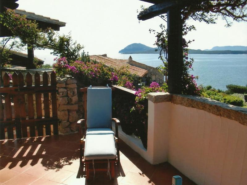 The terrace of the Blue house - Apartment in luxury resort, Emerald Cost, Sardinia - Sardinia - rentals