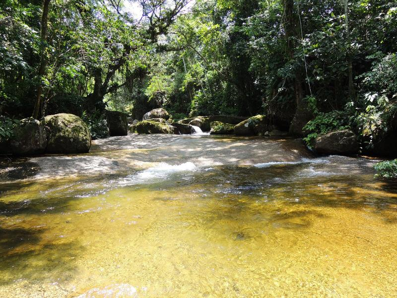 Welcome to Sitio Namaste! One of the many natural pools. - Comfy cottage in paradise at Sitio Namaste  Paraty - Paraty - rentals