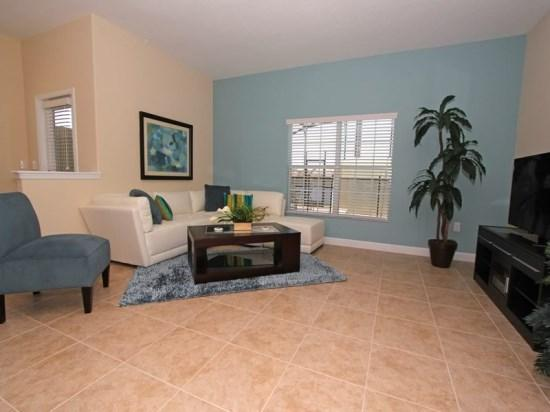Living Area - PP5T8925CPR Elegant Vacation Townhouse close to Disney - Four Corners - rentals