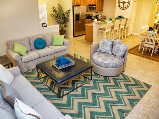 Living Area - PP5T3073BPA Elegantly Designed Town Home in Kissimmee - Four Corners - rentals