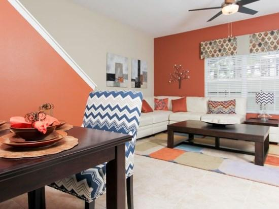 Interior View - PP5T8951MPR Nicely Decorated Townhouse Nestled in Kissimmee - Four Corners - rentals