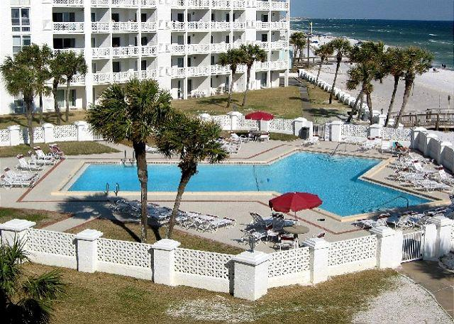 Gulf Front Building and Ground Floor - Two Bedroom, Very NIce! - Image 1 - Fort Walton Beach - rentals