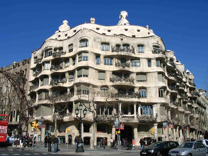 La Pedrera, in Passeig de Gracia, walking distance from the apartment - Gracia Gaudi close with Terrace Balcony WIFI - Barcelona - rentals