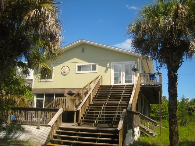 Peek's Paradise:  Overlooks the Gulf! - Image 1 - Little Gasparilla Island - rentals