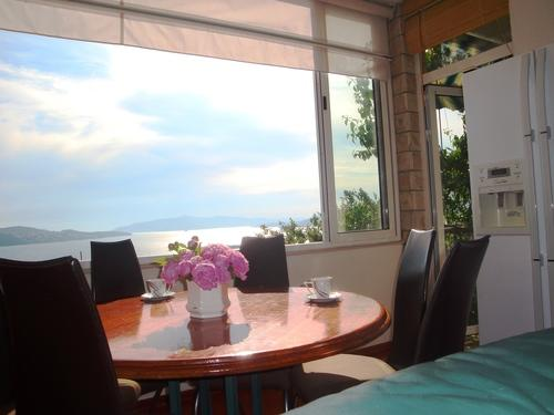 living room - Apartment with breathtaking seaview - Trogir - rentals