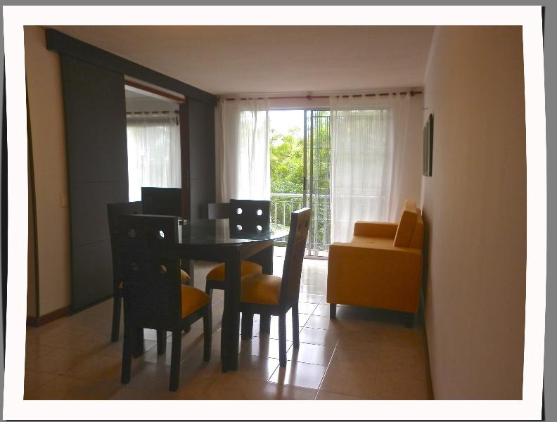 Living and Dinning Room - Great Location Executive Furnished Apartment Cali - Cali - rentals
