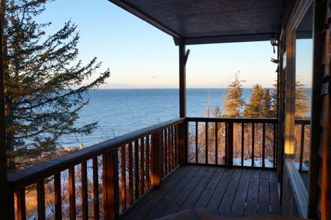 Ocean View Cabin on the Bluff (Iliamna Cabin) Anchor Point - Image 1 - Anchor Point - rentals