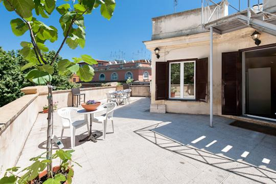 Terrace - Penthouse in heart Rome terrace breathtaking views - Rome - rentals