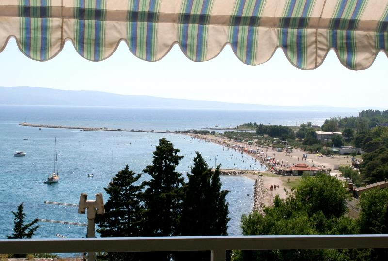 """balcony view A1(7+1) - APARTMENTS """"ZORE"""" - A1(7+1) - Omis - rentals"""