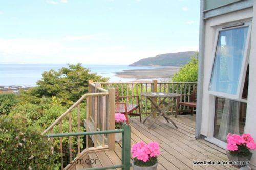 St Anthony's Cottage, Porlock Weir - Sleeps 4 - Exmoor National Park - Sea View - Large Garden - Image 1 - Porlock Weir - rentals