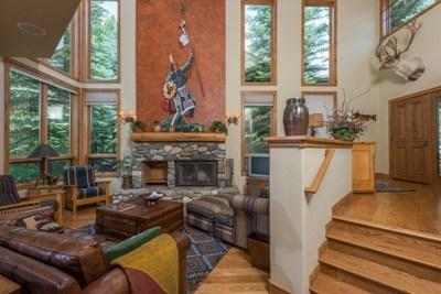 Living room - Private Residence on Trail Creek: 400B Centennial Lane - Ketchum - rentals
