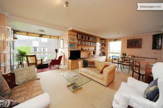 2 bed on the river's edge, 10 mins to Chelsea - Image 1 - London - rentals
