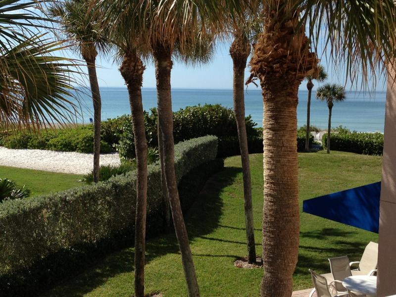 Gorgeous view from Balcony - Beautiful Gulf Front Condo on White Sandy Beach - Longboat Key - rentals
