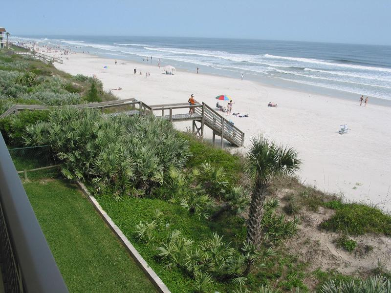 View from Balcony of Unit #A302 - Moontide Condo #A302 -  Discounted Rates - New Smyrna Beach - rentals