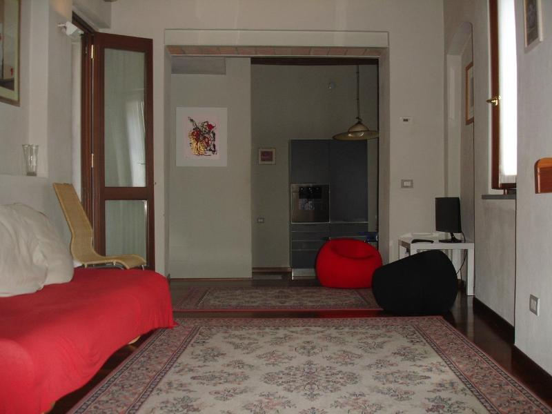 living room - DIAMOND HOUSE PARMA (Air conditioner) - Parma - rentals