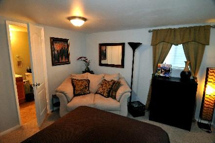 Relaxing decor with convience of bathroom right off the bedroom. - Zen Retreat San Diego - La Mesa - rentals