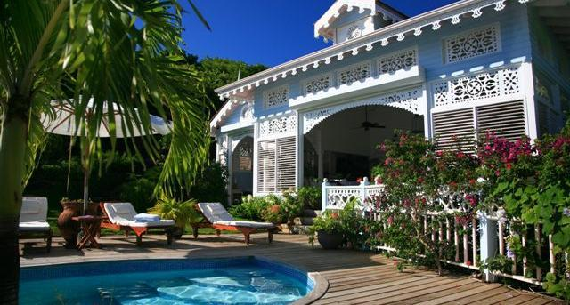 Hibiscus House at 1 Saline Point, Cap Estate, Saint Lucia - Ocean View, Walk To Beach, Pool - Image 1 - Cap Estate - rentals