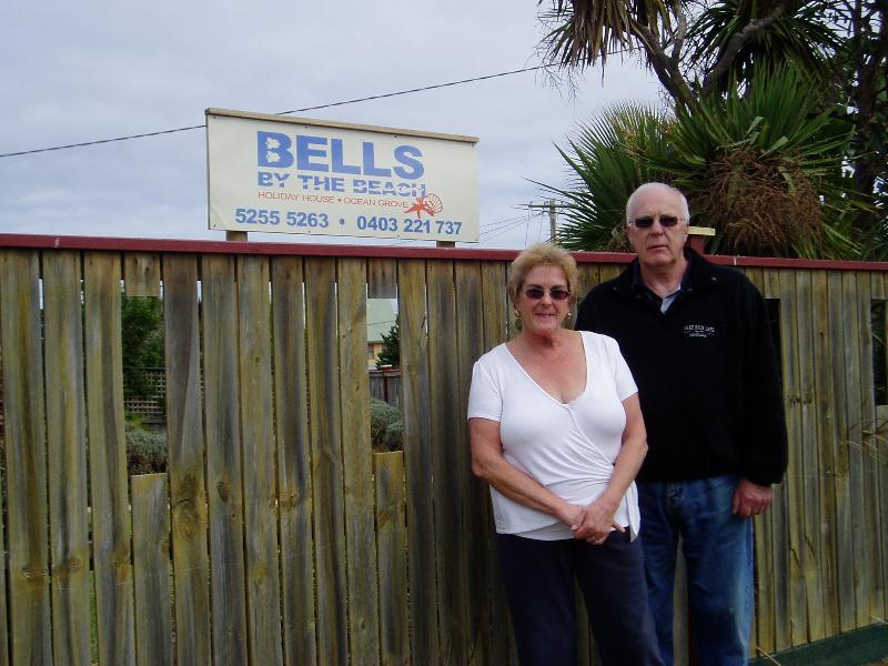 Jan and Lin Bell, owner/operators - Pet Friendly Holiday House - Bells By The Beach - Ocean Grove - rentals