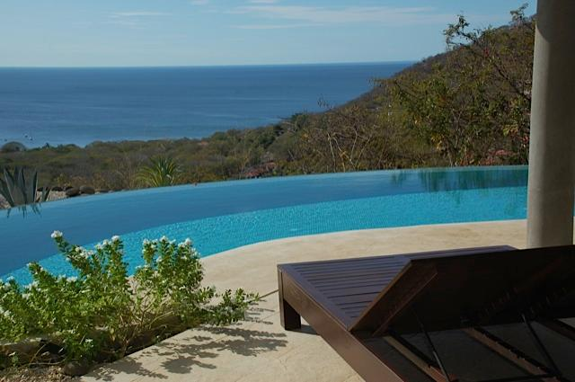 sitting on the patio-what a view - Breathtaking Panoramic Ocean Views from the - Playa Hermosa - rentals