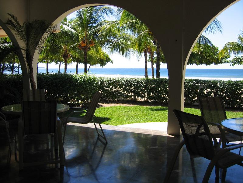 Beach Front Terrace - Casa Del Mar - Beach Front Home - **Built Right in the Sand** - Playa Grande - rentals
