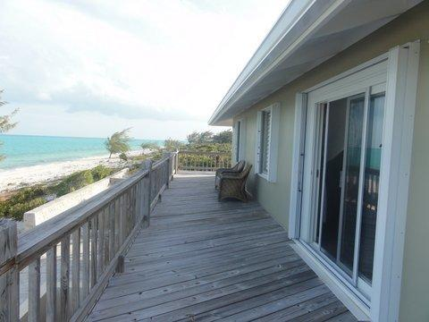 Upstairs patio - Beach home, kiteboarder paradise - Providenciales - rentals