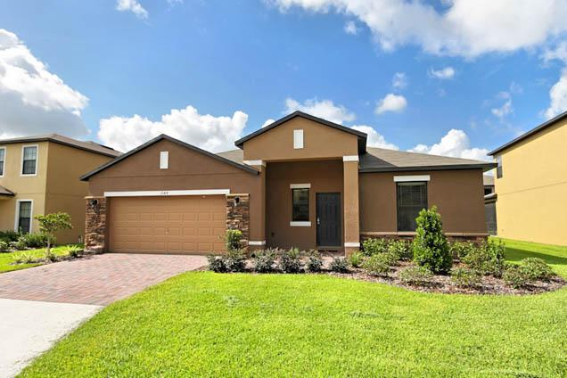 Front of Home - Cypress Pointe South Face 5 Bed Game Room 1044-CYP - Davenport - rentals