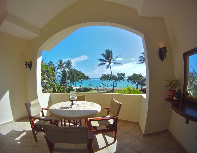 Terrace with the best view in Kitebeach - Kitesurf Penthouse, Central on Kitebeach - Cabarete - rentals