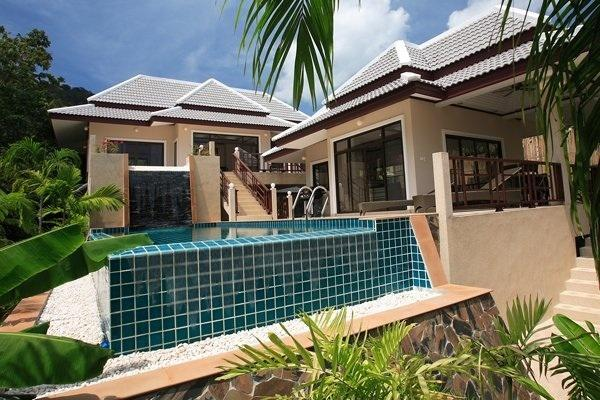 Private pool villa overlooking Chaweng beach Samui - Image 1 - Bophut - rentals