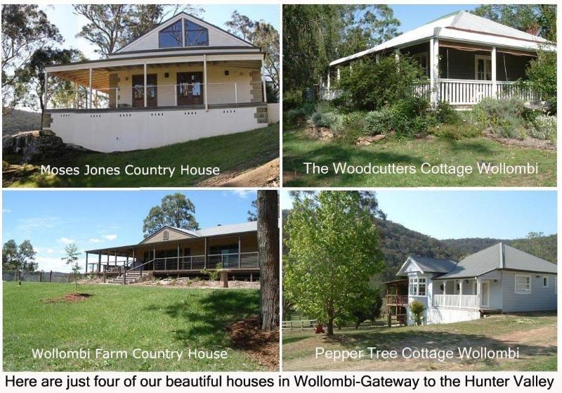 Selection of our Houses in Wollombi - Wollombi Stays in the Hunter Valley - Wollombi - rentals